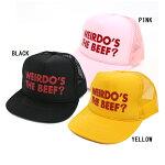 GLADHANDweirdo【wrd-19-SS-G04】wrd19SSG04WEIRDO'sTHEBEEF-メッシュキャップ野球帽ビーフ