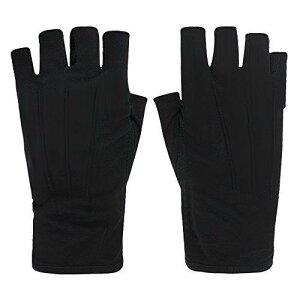 UVカット手袋 レディース メンズ グローブ 指なし 夏 メッシュ 運転用 日焼け止め 手袋 スマホ操作 紫外線対策 滑り止め付き 釣り ゴルフ 自転車 冷感手袋