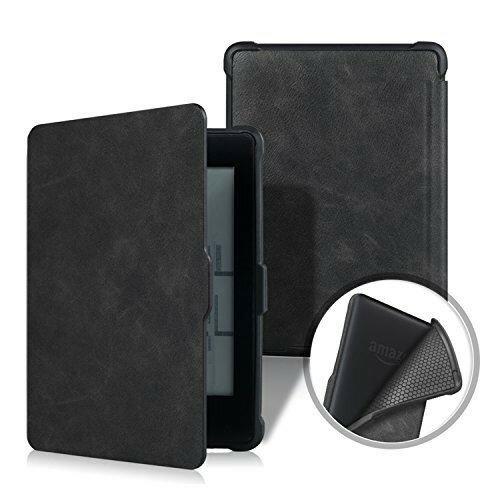電子書籍リーダーアクセサリー, 電子書籍リーダーケース XIHAMA For Kindle Paperwhite 567 (Black)
