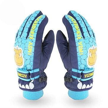 X.A スキーグローブ キッズ 子供用 スノボーグローブ 手袋 防寒 撥水 防風 暖かい すべり止め 雪かき アウトドア 男の子 女の子 自転車 通勤 通学 …