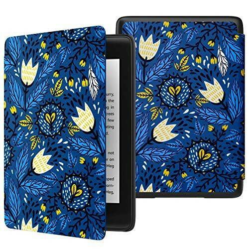 電子書籍リーダーアクセサリー, 電子書籍リーダーケース ATiC NEW-Kindle Paperwhite(New) Kindle Paperwhite 2018 10) , TulipBlue BLACK