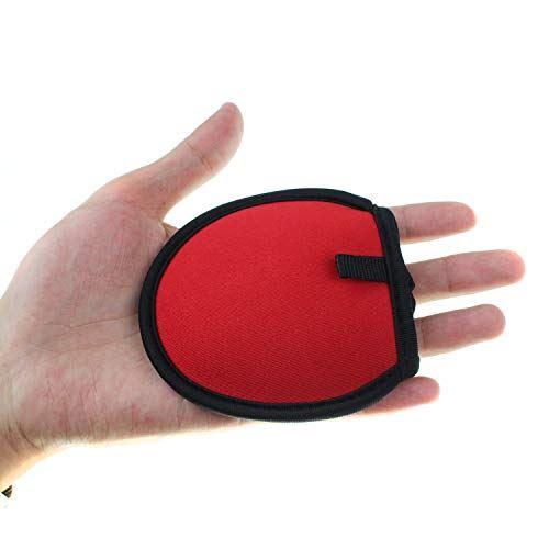 CRESTGOLFゴルフボール拭き ポケットボールウォッシャー ボールクリーナー タオル内蔵 使いやすい セルフ愛好者の必需品 レッド
