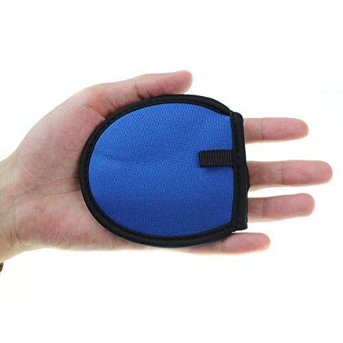 CRESTGOLFゴルフボール拭き ポケットボールウォッシャー ボールクリーナー タオル内蔵 使いやすい セルフ愛好者の必需品 ブルー