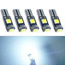 T5 LED メーター球 パネル球 エアコン球 ウェッジ球 ホワイト...
