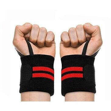 Zenoplige リストラップ リスト ストラップ ウエイト トレーニング 筋トレ リフティング 手首固定 サポーター ケガ予防 2枚組