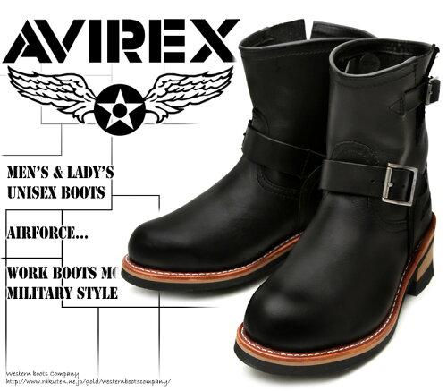 [AVIREX] アヴィレックス(アビレックス) AV-2225 HORNET ホーネット Black ブラック メン...