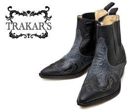 Trakar's 14304 Blk-Blk-FLW