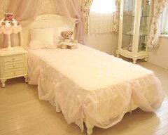 輸入家具■オーダー家具■プリンセス家具■プリマヴェーラ■シングルベッド■薔薇の彫刻■ウッ...