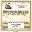 【ネコポス可能】Pyramid Strings ピラミッド・ストリングス [2430] Premium Bronze Acoustic Guitar Strings No.327 12-52/Lightゲージ/アコースティック弦/1セット