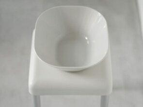 四角くてきれいな洗面器。スツールとペアで。プラマイゼロ 洗面器