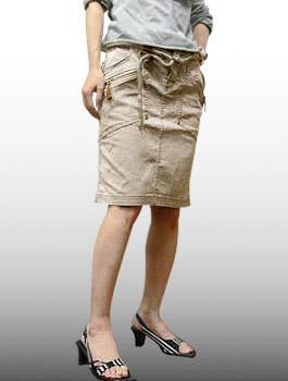 ボトムス, スカート A.KURTZ()-Ladys- Skirt JONI Hemp 60317 15,800YDKG-kdRCP