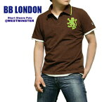 BB LONDON(ビービーロンドン) S/S Polo @WESTMINSTER[BB283]ポロシャツ/半袖 【smtb-KD】【RCP】