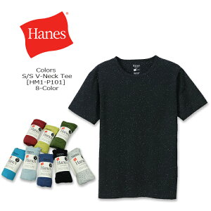 Hanes(ヘインズ)Colors S/S Crew-Neck Tee [HM1-P101] 半袖 メンズ 無地 リサイクルコットン Tシャツアメカジ 【\1,500】【smtb-kd】【RCP】