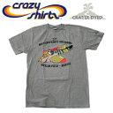 Crazy Shirts(クレイジーシャツ) S/S Tee @CRATER DYED[1022832] MOUSERSCHMITT クリバンキャット 半袖 Tシャツ HAWAII ハワイ ネコ 火山灰【RCP】ヴィンテージウォッシュ