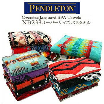 PENDLETON (ペンドルトン) Oversized Jacquard Towels XB233 ジャーガード バスタオル スパ ブラン...