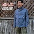 【即納】REPLAY(リプレイ) Mountain Parka Jacket[M896181050] マウンテンコート パーカ ジャケット 綿 メンズ アウター【smtb-kd】【RCP】【\45,000】
