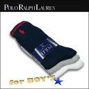【即納】Polo Ralph Lauren(ポロ ラルフローレン) -Boys- Stripe 3-Pack Sock @ Asst[B60014BPK] ボーイズ ソックス 靴下 3枚セット 男女兼用 【smtb-KD】【RCP】