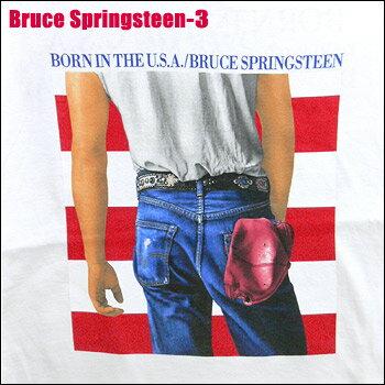 トップス, Tシャツ・カットソー ROCK TEE Bruce Springsteen-3 TT smtb-kd