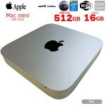 【中古】APPLEMacminii7-2300Late2012A1347小型デスクトップMacOSCatalina[Corei73615QM2.3GHzSSD512GB16GB無線BTOS10.15.7]:良品