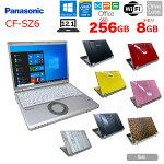 【中古】PanasonicCF-SZ6選べるカラー!中古ノートWUXGA(1920×1200)OfficeWin10[corei57300U2.6Ghz8GB256GBSSDBT12.1型]:良品