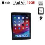 【中古】AppleiPadAirRetinaWi-Fi16GBMD785J/A[AppleA716GB(SSD)9.7インチOS12.4.1スペースグレイ]:良品