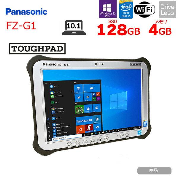 パソコン, ノートPC Panasonic TOUGHPAD FZ-G1 Win10 WUXGA core i5 4310U 2Ghz 4GB 128GB SSD BT 10.1