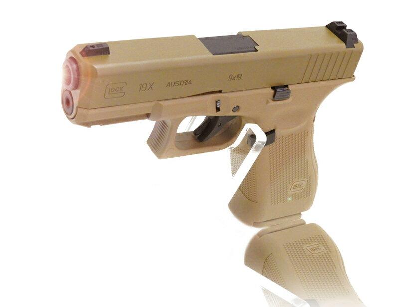 [UMAREX/VFC] GlockAirsoft G19X GBBハンドガン 【Coyote】/[新品]/新品です。/ガスガン