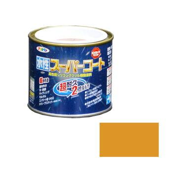 アサヒペン 水性スーパーコート 1/5L (シトラスイエロー) AP9011405 4970925412300