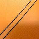 車・バイク & パーツ通販専門店ランキング30位 グロンドマン バイク シートカバー ホンダ HONDA オレンジ/黒ダブルステッチ 張替 ジョルノ[AF24]