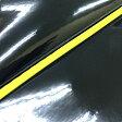 グロンドマン バイク シートカバー ヤマハ YAMAHA エナメルブラック/黄色パイピング 被せ シグナスX[SE12J] GR103YC550P100
