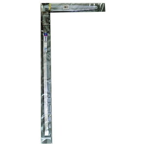 シンワ材木尺ステン50cm表2mm・裏1mm目盛