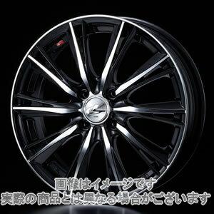15インチエブリィワゴンDA64WWEDS レオニス WX ブラックミラーカット 4.5Jx15エナセーブ RV504 165/55R15
