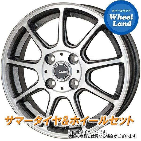 タイヤ・ホイール, サマータイヤ・ホイールセット 14 (GK 14)HOT STUFF G P01 5.5Jx14 EC202L 17570R14