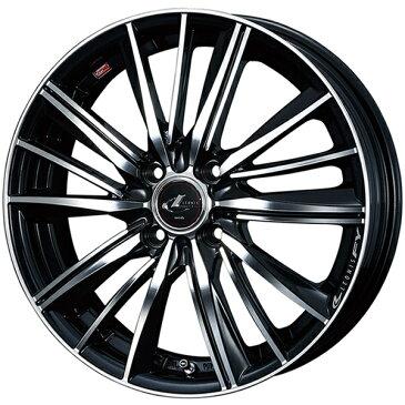 14インチ サマータイヤ セット【適応車種:N ONE(JG系 NA車 2WD)】WEDS レオニス FY パールブラックミラーカット 4.5Jx14エナセーブ EC202L 155/65R14