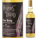 ウェポン オブ レジェンド オード2012 7年 ゲイ ボルグ 700ml 59度 ウイスキー ウィスキー ハイランド シングルモルト whisky 長S