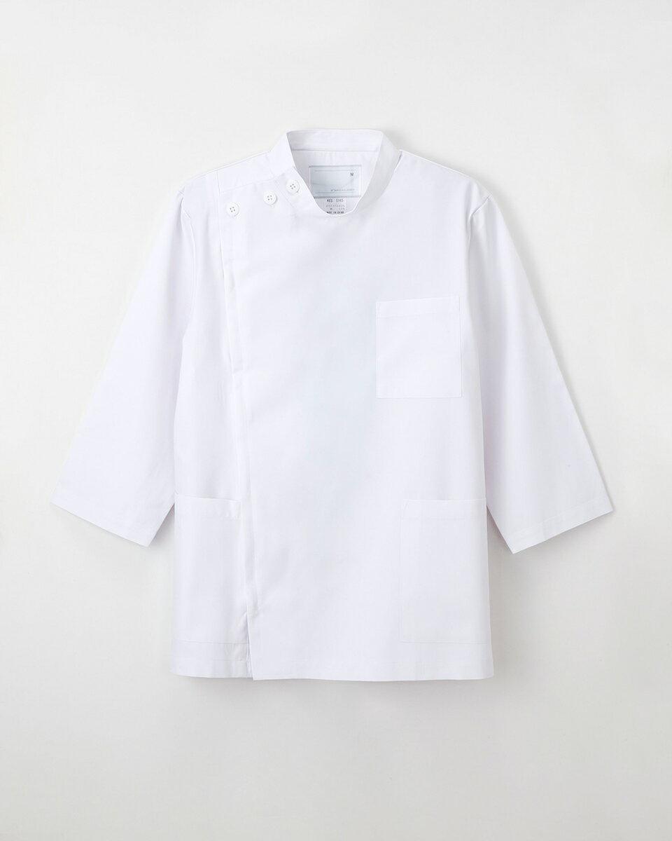 【ナガイレーベン】KES-5165【メンズ白衣 男子KC 8分袖】