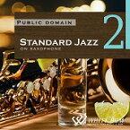 【店内音楽CD】Standard Jazz 2 - on saxophone - (21曲 約61分)♪リラックス音楽 店舗・お店・施設・待合室・ショールーム・イベント 著作権フリー音楽 BGM CD  面倒な著作権処理不要