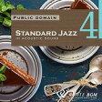 【商用音楽CD】Standard Jazz 4 - in アコースティックギター - (19曲 約64分)♪リラックス音楽 店舗・お店・施設・待合室・ショールーム・イベント 著作権フリー音楽 BGM CD  面倒な著作権処理不要
