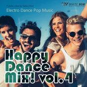 【商用音楽CD】HappyDanceMix!vol.4-ElectroDancePopMusic-(18曲約61分)