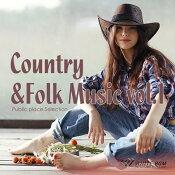 【商用音楽CD】Country&FolkMusicvol.1(16曲約61分)