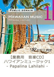 【商用音楽CD】Hawaiianmusic1-PapalinaLahilahi-(22曲約68分)