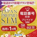 プリペイドsim 日本 docomo 通話付き プリペイドsimカード simカード プリペイド sim card 1GB かけ放題 マルチカットsim MicroSIM NanoSIM ドコモ 携帯 携帯電話 simフリールーター 電話・・・