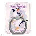スマホリ ング バンカーリング メリー・ポピンズ リターンズ スマートフォン用リング アクリルメリー・ポピンズ / ペンギン・ウェイター 03 スマホ リングホルダー 落下防止 ホールドリング 360度回転