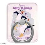 スマホリング バンカーリング メリー・ポピンズ リターンズ スマートフォン用リング アクリルメリー・ポピンズ / ペンギン・ウェイター 03 スマホ リングホルダー 落下防止 ホールドリング 360度回転