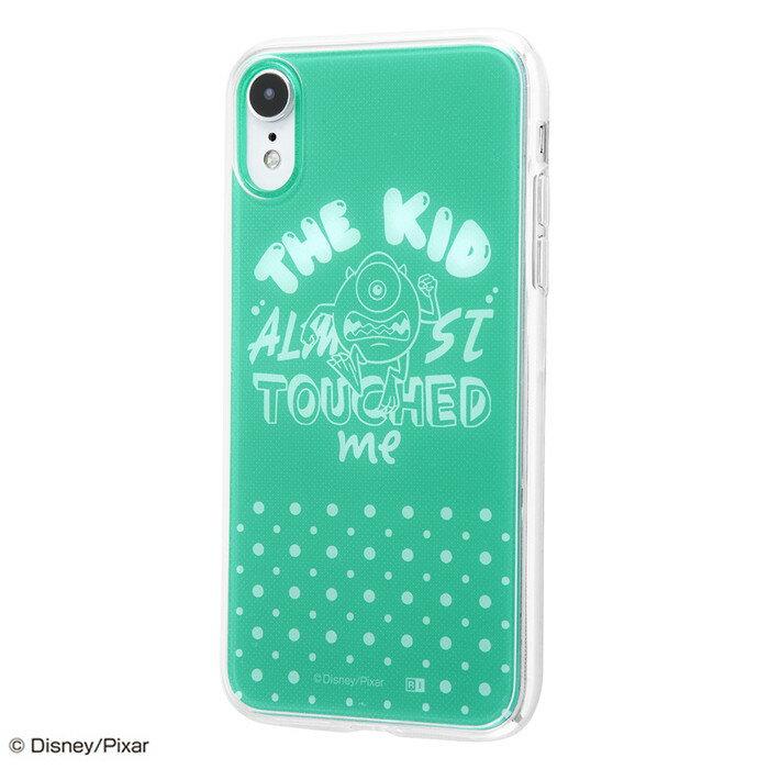 iphone xr ケース モンスターズインク TPUケース+背面パネル モンスターズ・インク / お触り禁止 iphonexr カバー