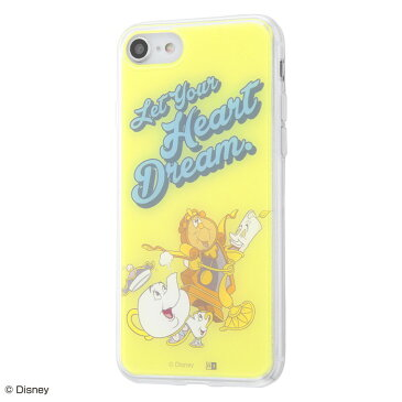 iphone8 ケース iphone7ケース ディズニー プリンセス キャラクター TPUケース+背面パネル 美女と野獣 /夢を教えて iphone7 カバー iPhone se2 iPhone SE 第2世代