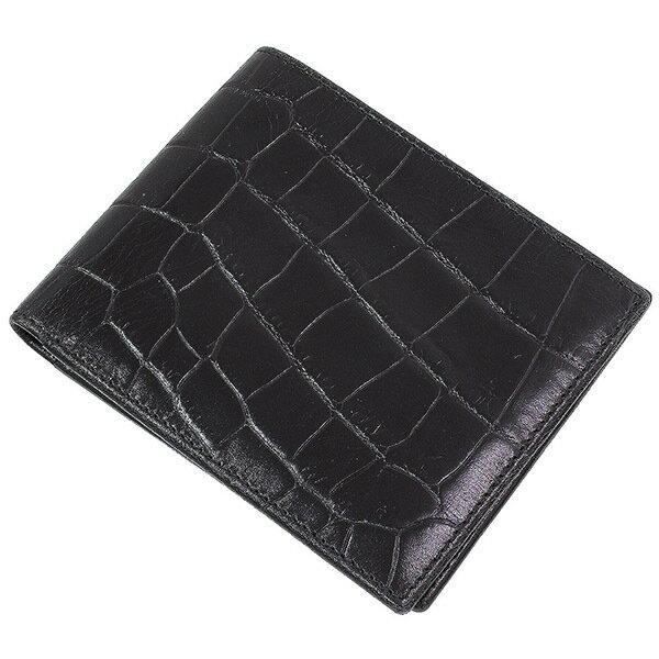 c58d7f437d67 エッティンガー)Ettinger クロコ調 オンライン レザー 二つ折り財布 ...