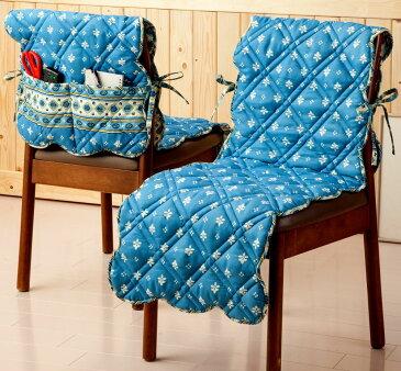 【6月NEW】椅子カバー ダイニングチェアカバー 座面 おしゃれ かわいい 東欧 キルト タイル柄がかわいいキルト椅子カバー ポーリッシュ【45x140cm】【インテリア】【k-04a】