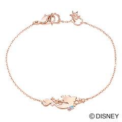【white clover Disney Series】ディズニーリトルマーメイド/ブレスレット/ピンク&オリジナルBOX DI205PG
