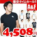 アバクロ メンズTシャツ 全9色Abercrombie & Fitch /正規品/スーパークールビズ/クールビズ/通販/直営店買い付け